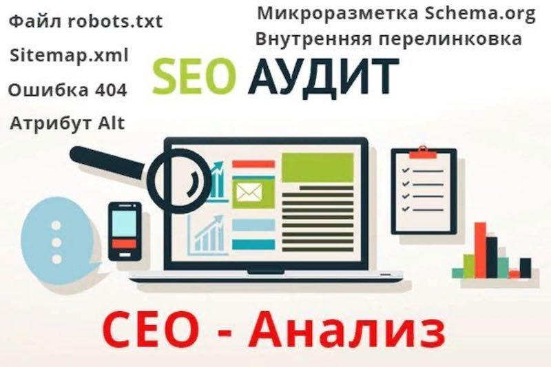 SEO аудит сайта пример