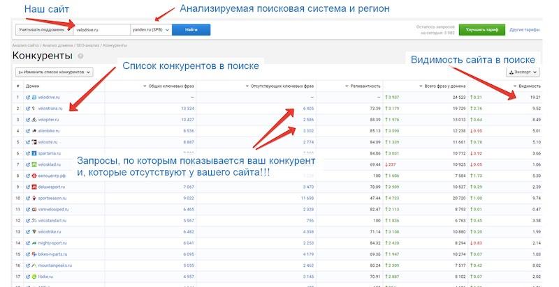 Видимость сайта в поисковых системах