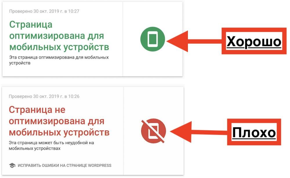 Проверка сайта на адаптивность к мобильным устройствам